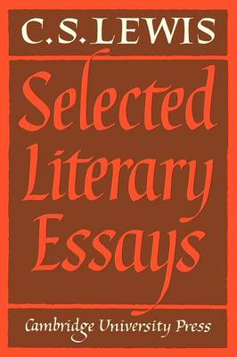 Selected Literary Essays (Paperback)