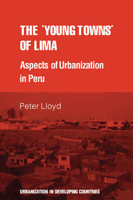 Urbanisation in Developing Countries: The 'young towns' of Lima: Aspects of urbanization in Peru (Paperback)