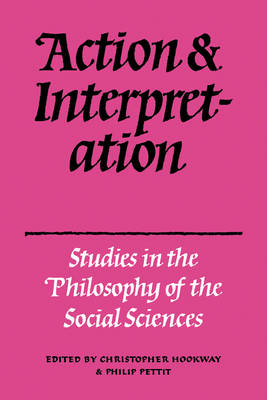 Action and Interpretation: Studies in the Philosophy of the Social Sciences (Paperback)
