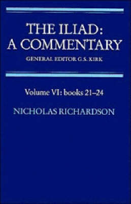 The Iliad: A Commentary: Books 21-24 Volume 6 (Paperback)