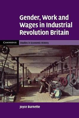 Gender, Work and Wages in Industrial Revolution Britain - Cambridge Studies in Economic History: Second Series (Paperback)
