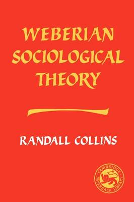 Weberian Sociological Theory (Paperback)