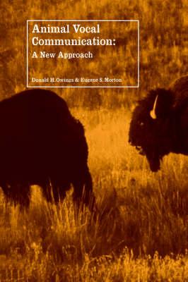 Animal Vocal Communication: A New Approach (Hardback)