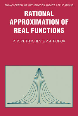 Rational Approximation of Real Functions - Encyclopedia of Mathematics and Its Applications 28 (Hardback)