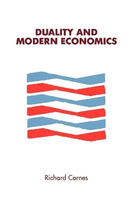 Duality and Modern Economics (Paperback)
