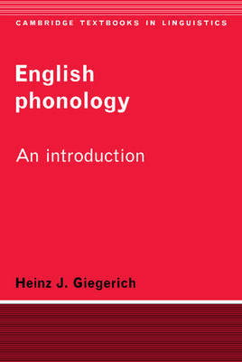 Cambridge Textbooks in Linguistics: English Phonology: An Introduction (Paperback)