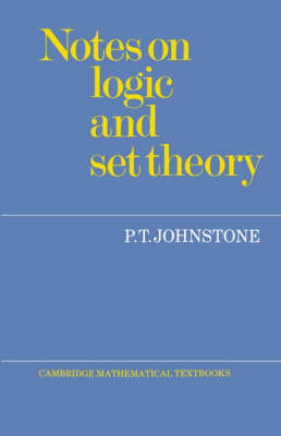 Notes on Logic and Set Theory (Paperback)