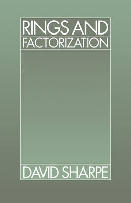 Rings and Factorization (Paperback)