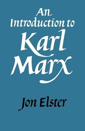 An Introduction to Karl Marx (Paperback)