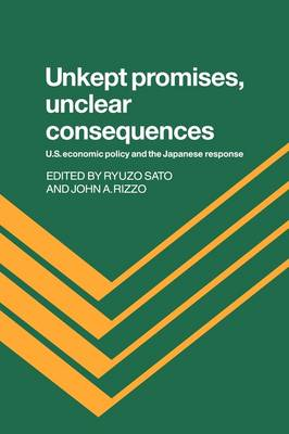 Unkept Promises, Unclear Consequences: US Economic Policy and the Japanese Response (Hardback)