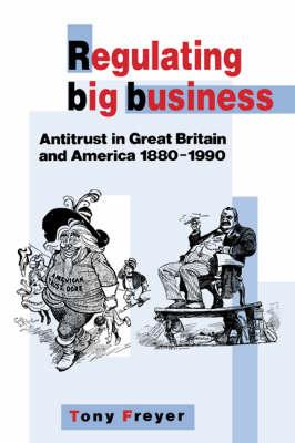 Regulating Big Business: Antitrust in Great Britain and America, 1880-1990 (Hardback)