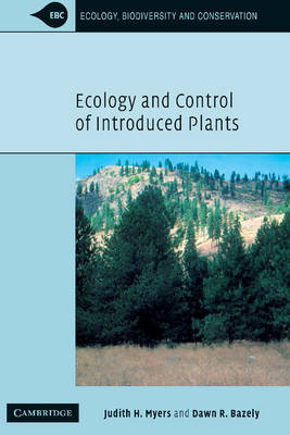 Ecology and Control of Introduced Plants - Ecology, Biodiversity and Conservation (Hardback)