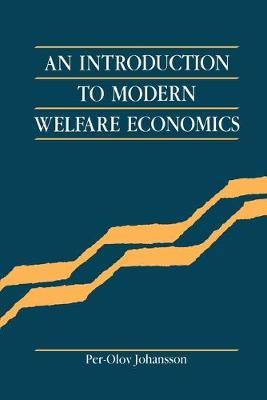 An Introduction to Modern Welfare Economics (Paperback)