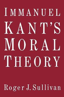 Immanuel Kant's Moral Theory (Paperback)