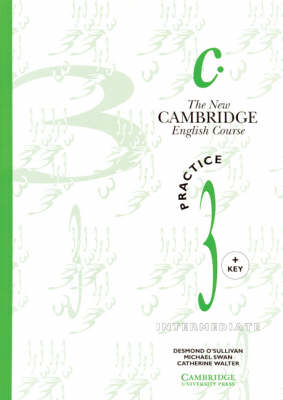 The New Cambridge English Course 3 Practice book with key - The New Cambridge English Course (Paperback)