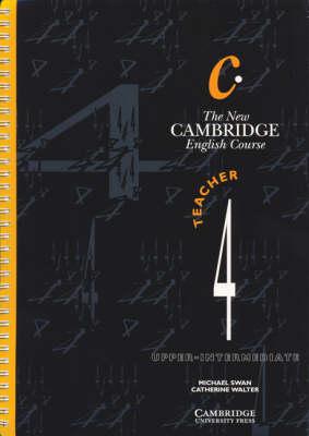 The New Cambridge English Course 4 Teacher's Book: Level 4 - The New Cambridge English Course (Paperback)