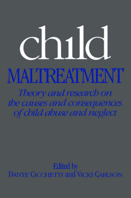 Child Maltreatment: Theory and Research on the Causes and Consequences of Child Abuse and Neglect (Paperback)