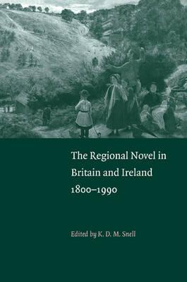 The Regional Novel in Britain and Ireland: 1800-1990 (Hardback)