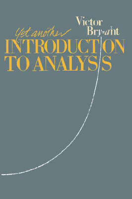 Yet Another Introduction to Analysis (Paperback)