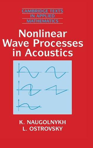 Cambridge Texts in Applied Mathematics: Nonlinear Wave Processes in Acoustics Series Number 9 (Hardback)