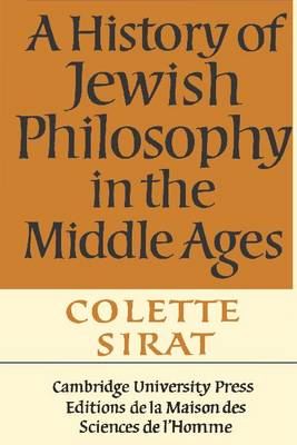 A History of Jewish Philosophy in the Middle Ages (Paperback)