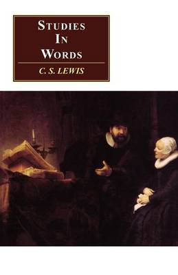 Studies in Words - CANTO (Paperback)