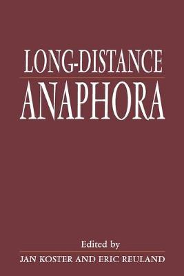 Long Distance Anaphora (Paperback)