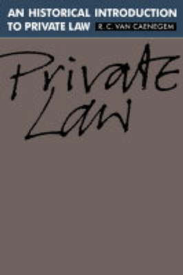 An Historical Introduction to Private Law (Hardback)