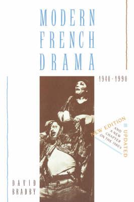 Modern French Drama 1940-1990 (Paperback)