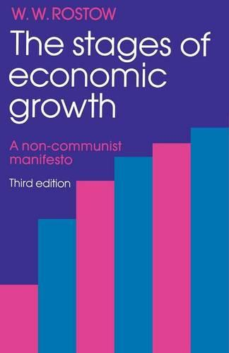 The Stages of Economic Growth: A Non-Communist Manifesto (Paperback)