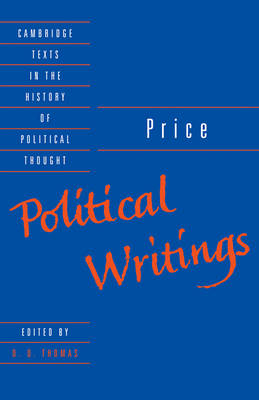 Price: Political Writings - Cambridge Texts in the History of Political Thought (Paperback)
