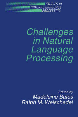 Challenges in Natural Language Processing - Studies in Natural Language Processing (Hardback)