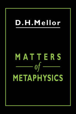 Matters of Metaphysics (Hardback)