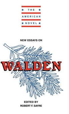 New Essays on Walden - The American Novel (Hardback)