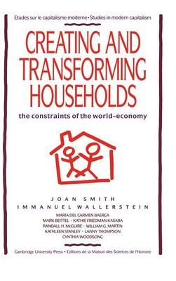 Creating and Transforming Households: The Constraints of the World-Economy - Studies in Modern Capitalism (Hardback)