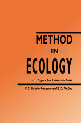 Method in Ecology: Strategies for Conservation (Hardback)