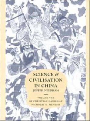 Science and Civilisation in China Biology and Biological Technology: Volume 6: Agro-Industries and Forestry Part 3 (Hardback)