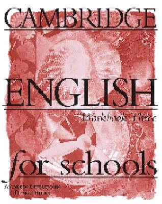 Cambridge English for Schools 3 Workbook (Paperback)