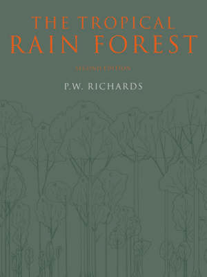 The Tropical Rain Forest: An Ecological Study (Paperback)