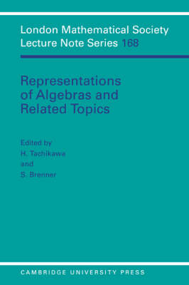 Representations of Algebras and Related Topics - London Mathematical Society Lecture Note Series (Paperback)