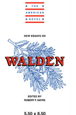 The American Novel: New Essays on Walden (Paperback)