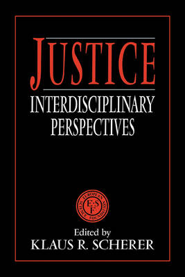 Justice: Interdisciplinary Perspectives (Paperback)