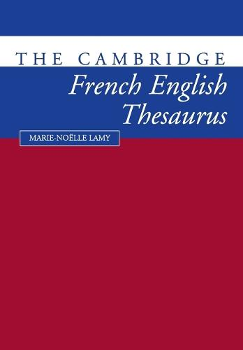 The Cambridge French-English Thesaurus (Paperback)