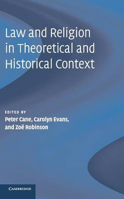 Law and Religion in Theoretical and Historical Context (Hardback)