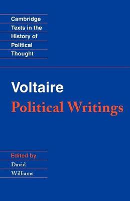 Voltaire: Political Writings - Cambridge Texts in the History of Political Thought (Paperback)