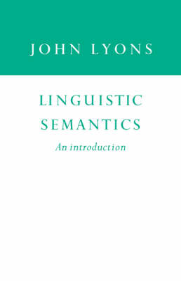 Linguistic Semantics: An Introduction (Paperback)