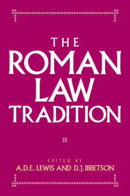 The Roman Law Tradition (Hardback)
