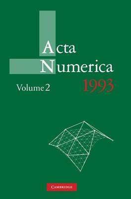 Acta Numerica Acta Numerica 1993: Series Number 2: Volume 2 (Hardback)