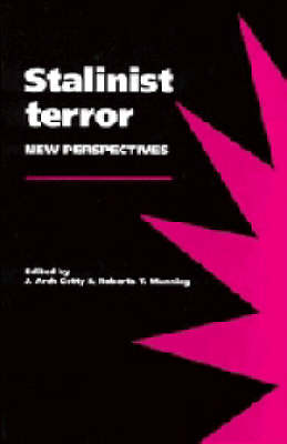 Stalinist Terror: New Perspectives (Paperback)
