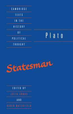 Cambridge Texts in the History of Political Thought: Plato: The Statesman (Paperback)
